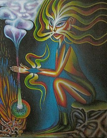 RUNA kunst: Malerei von Runa Zumara / Privatbesitz