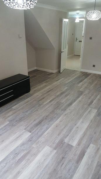 Amtico Grey Wood Flooring In Wandsworth