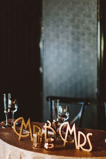 Art Deco Inspired Brooklyn Wedding