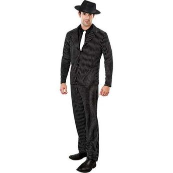 0db83b99c566 Details about Adult Mens Plus Size Gangster Costume 1920's Mafia Godfather  Smiffys Fancy Dress