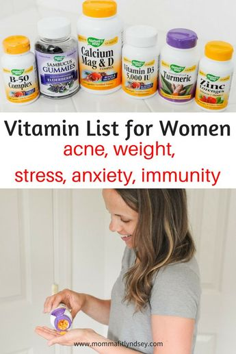 My Daily List of Vitamins for Energy, Immunity & Stress Management