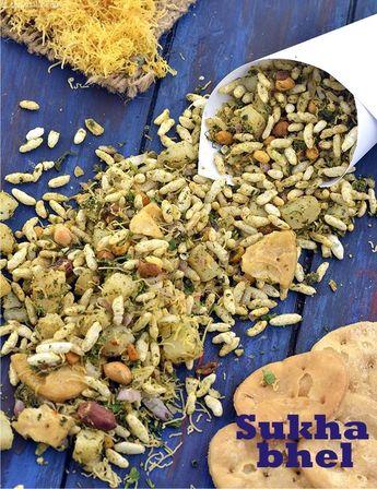 Sukha Bhel ( Mumbai Roadside Recipes)
