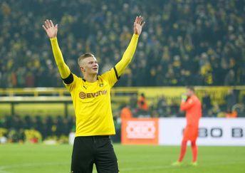 Doblete de Haaland da la victoria al Borussia Dortmund