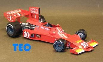 F1 Paper Model - 1976 European Championship Shadow DN3 Lella Lombardi F5000 Paper Car Free Download