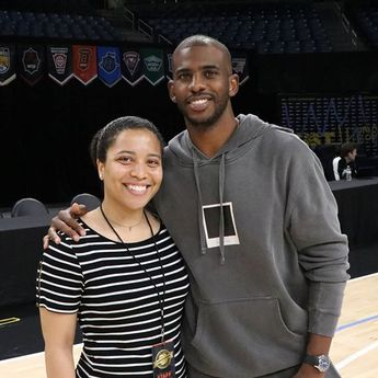 The best part of it all is truly about the people you meet along the way!  Thank you @cp3...  The best part of it all is truly about the people you meet along the way!  Thank you @cp3 for stopping by the @the.tournament mini camp today! Such an honor getting to know you and capturing you throughout the afternoon!  #DumontChronicles #ChrisPaul #TBT #Tournament #Chicago #NBA #Basketball #Puma #Camp #PumaHoops #Sports #Photography #DreamBig #Believe