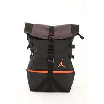 c02d945748f0 Nike Air Jordan Urban Rucksack Laptop Tablet Backpack Bag 606361 in Black  and Infrared  Nike