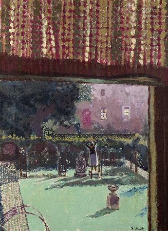 "radstudies: "" Walter Sickert (British, 1860-1942) Lainey's Garden / The Garden of Love """