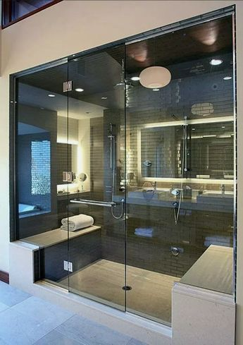 40+ Farmhouse Master Bathroom Remodel Decor Ideas #housedesign #houseideas #masterbathroomremodel ~ Home Design Ideas