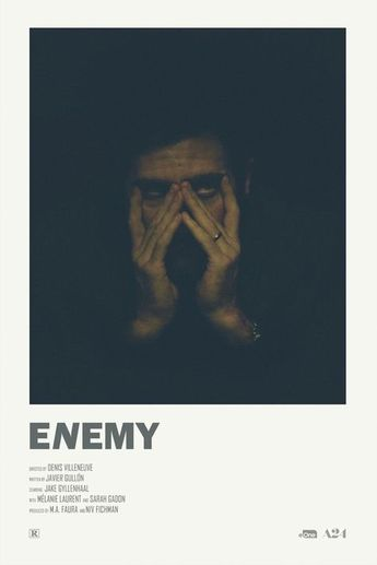 Enemy alternative movie poster Visit my Store