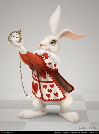 Rabbit by Gediminas Pranckevicius | 2D | CGSociety