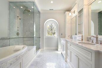 Bianco Carrara 12x12 polished marble tile