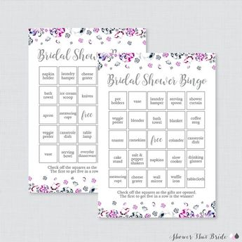 diamond bridal shower bingo printable 60 unique pre filled bingo cards and blank cards