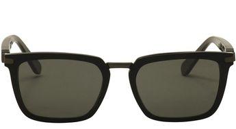0eb0fd32832 Brioni Black Havana Acetate Rectangular Women Sunglasses BR0005S-001