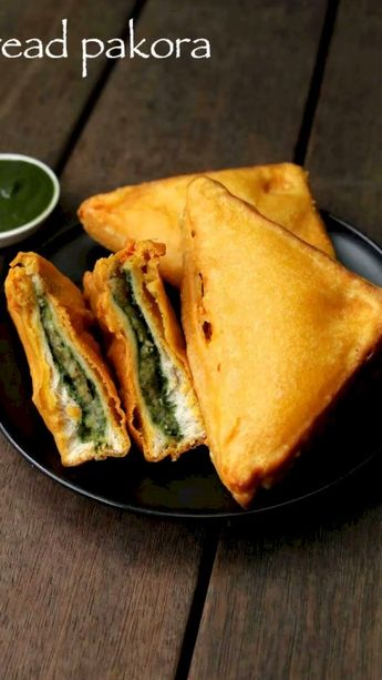 Bread pakora recipe | aloo stuffed bread pakora | bread bajji