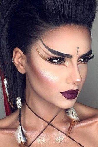 Halloween Makeup Ideas 2019: 33 Halloween Makeup Looks