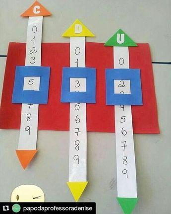 """72 curtidas, 5 comentários - Matemática na Escola (@matematicanaescola) no Instagram: """"#matemática #matemáticanaescola #alfabetizaçãomatemática #pedagogia ◾◾◾ #Repost…"""""""