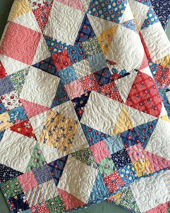 Tips for Selecting Fabric for a Sensational Scrap Quilt - Quilting Digest