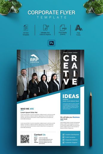 Thinking - Corporate Flyer Corporate Identity Template