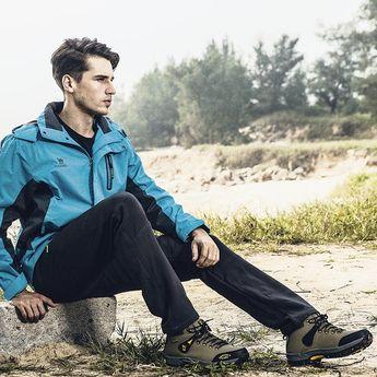 Men High Top Wearable Outdoor Hiking Sneakers