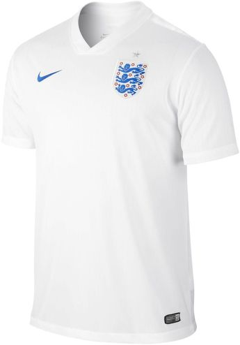 854231600b1 Nike england home jersey fifa world cup brazil 2014