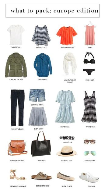 What Not To Pack : Summer Abroad