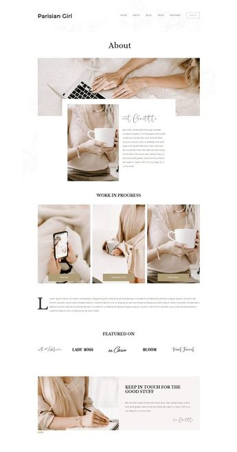A WordPress theme inspired by parisian girls, that sort of women with effortless chic confidence and comfort in their own skin. This is a Genesis Child Theme. In order to function require the Genesis Framework. Is fast, modern, easy to use, with a lot of options. And the Gutenberg integration gives you a lot of options to build rich and fancy Pages and Posts. The Premium Signature Font add a personal touch and personality.