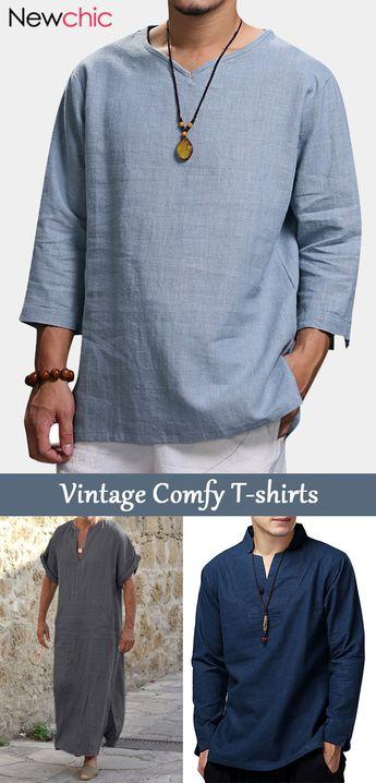 【Shop Now】New Arrivals- Mens Casual Vintage T-Shirts #vintage #mensfashion #shirts
