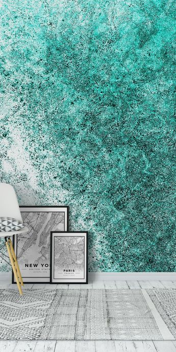 Sea Greenness Wall Mural / Wallpaper Art