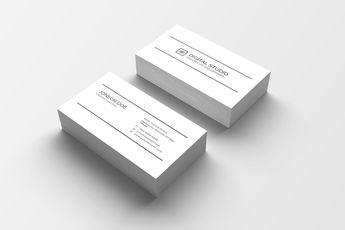High Class Creative Business Card Design - Graphic Templates