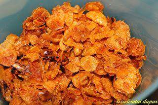 INTAI DAPUR: Cornflake Madu Pedas dan Rangup...terbaeeekkkk
