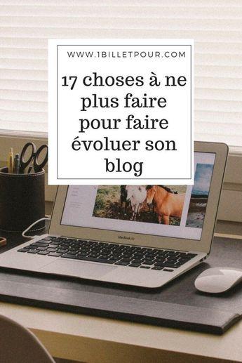 17 erreurs de blogueuse à ne plus commettre. EPISODE 3 - 1 billet pour