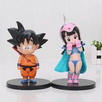 VS Majin B... Banpresto Dragon Ball Z 2.8-Inch Gotenks World Collectible Figure Action- & Spielfiguren