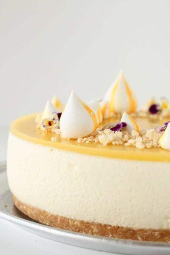 Tropisk cheesecake med mango og ananas - Det Glade Køkken