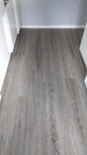 Here's a Vinyl Plank flooring installation in Rockport Grey color. It's one of our stock colors. Call us today! #Flooring #VinylPlank #Installation #FreeEstimates #vsflooring #PropertyManagement #RealEstate #Homeowners #LongBeach #SouthBay #LA #LosAngelesCounty #OrangeCounty
