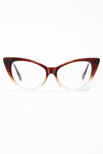 3fc098c3eab Nikita Designer Inspired Cat Eye Clear Glasses