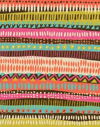 Kellie Bloxsom-Rys - Art and Illustration: Pattern
