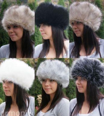 69ead7679d4ef Faux fox fur russian cossack style hat - toque - mongolian - hats - brand  new