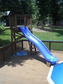 Dad U: stuff for Dads: Dad50 #25 Pool slide