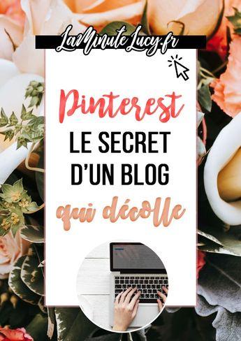 J'ai doublé le trafic de mon blog grâce à Pinterest ! - La Minute Lucy