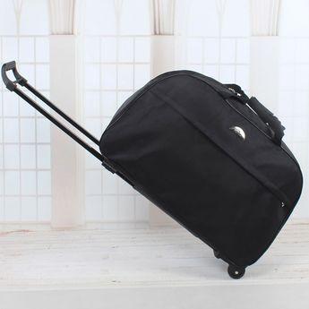 2016 Wheel Luggage Metal Trolley Bag Women'sTravel Bag Hand Trolley Unisex Bag Large Capacity Travel Suitcase Sac Board Chassis
