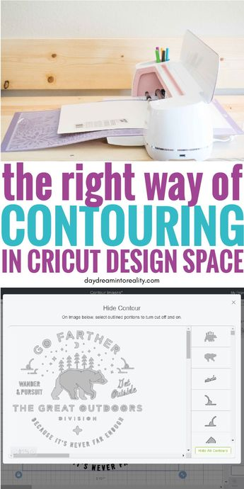 On today's tutorials you will be learning how to contour in Cricut Design Space like a Pro and we will also be checking out why is that sometimes the contour tool doesn't seem to work.