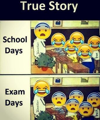I couldn't stop laughing during school days -- FB Memes