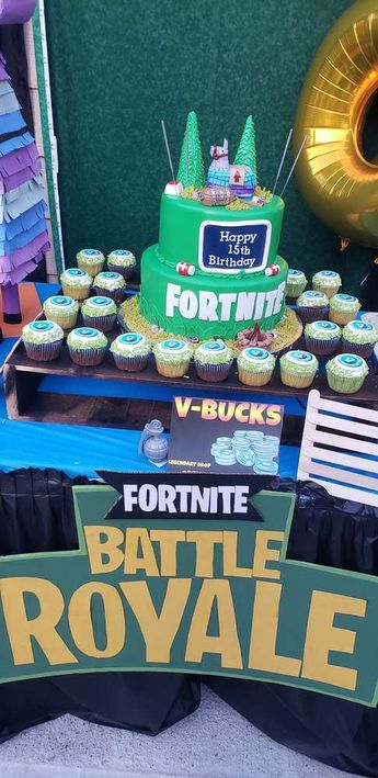 Fortnite Birthday Party Ideas Photo 2 Of 18