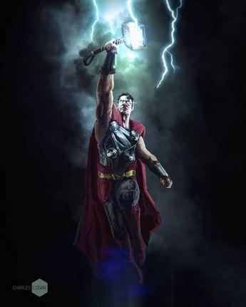 Super Thor by CharlesLogan on DeviantArt