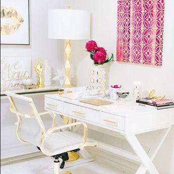 49 Beautiful Small Work Office Decorating Ideas