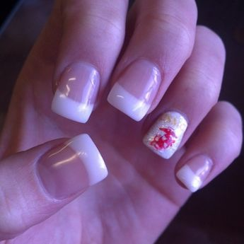 Nails For The Marine Corps Ball Nailart Usmc Frenchtips