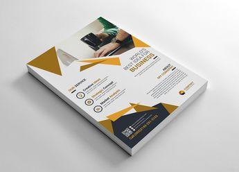 Corporate Business Flyer Corporate Identity Template #66215