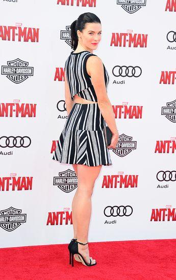Bridget Regan At The Premiere Of Marvels Ant Man