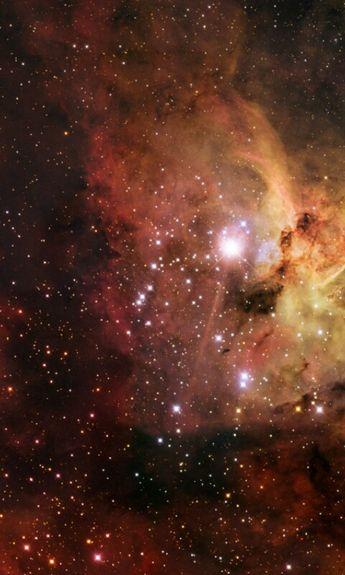 NGC-3372 KeyHole Nebula/Carina Nebula by: R.J. Gabany Cropped Mobile Phone Wallpaper V. 1 480x800