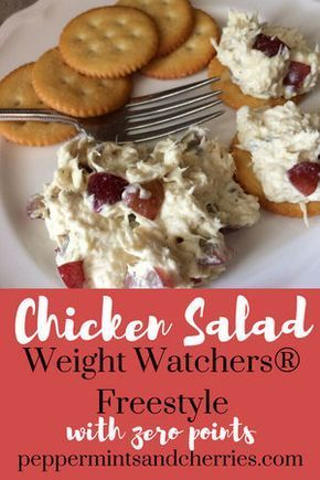 Weight Watchers® Freestyle Chicken Salad Recipe with Zero Points